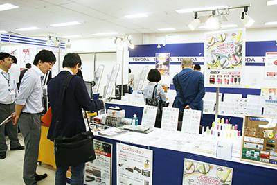 豊田商会ブースの様子(写真はOGBS2016)