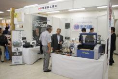 旭製版工業の展示ブース